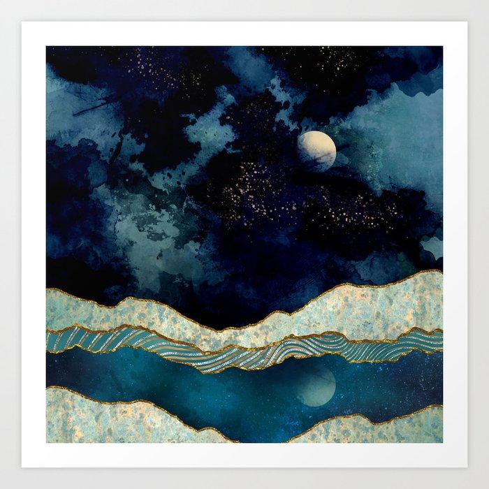 Indigo Sky Kunstdrucke