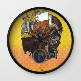 "Detroit: The Present - ""Occupation"" Wall Clock"