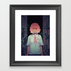 To the Library Framed Art Print