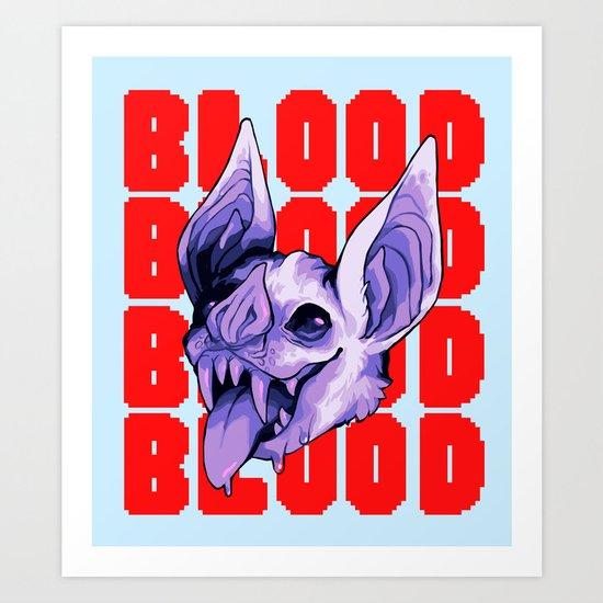 BLOODBLOODBLOOD Art Print