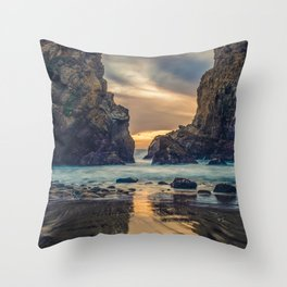 Touch of the Sea Throw Pillow