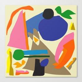 Abstract morning Canvas Print
