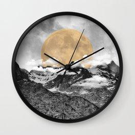 Moonrise Kingdom B&W Wall Clock