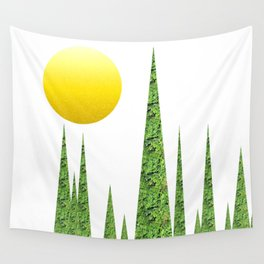Evergreen Landscape Wall Tapestry