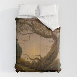 Caspar David Friedrich - Two Men Contemplating the Moon Comforters