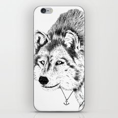 Mister Wolf iPhone & iPod Skin