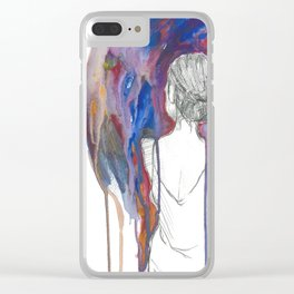 Anyway it doesn't matter anymore i (i) Clear iPhone Case