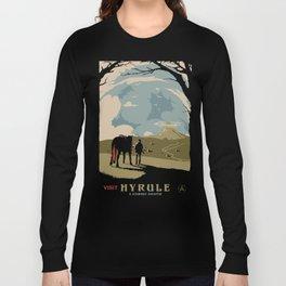 Visit Hyrule Long Sleeve T-shirt