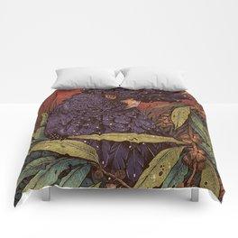 Black Cockatoo Comforters