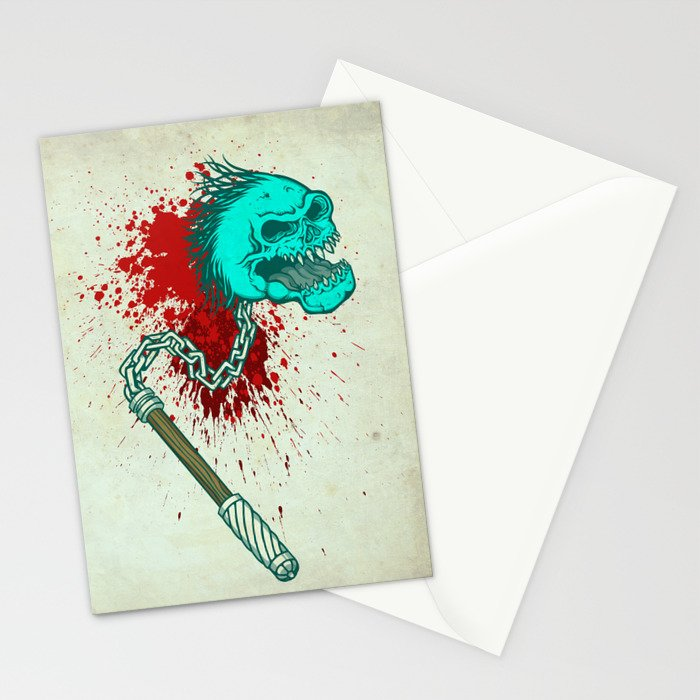 Hell´s mace Stationery Cards