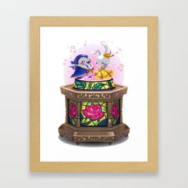 Tale As Old As Time Framed Art Print