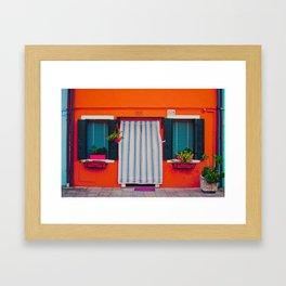 Burano X Framed Art Print