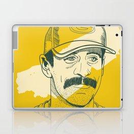 Mustachioed GOAT Laptop & iPad Skin