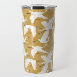 Soaring Wings - Goldenrod Yellow Travel Mug