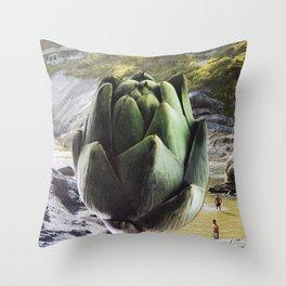 Art I Choke Throw Pillow
