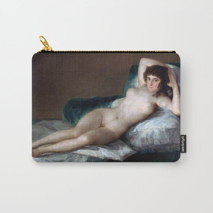Goya La Maja Desnuda Carry All Pouch