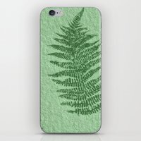 fern iPhone & iPod Skins featuring Fern by Mr and Mrs Quirynen