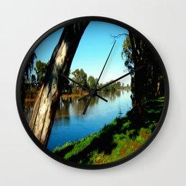 Wimmera River Wall Clock