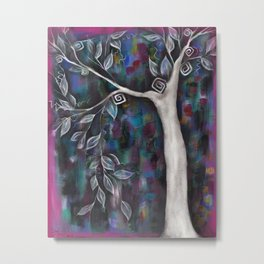 Zofia Tree Metal Print