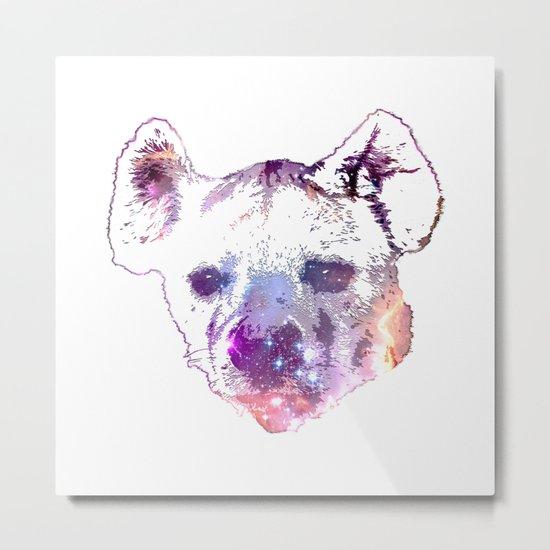Space Hyena Metal Print
