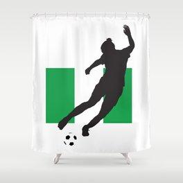 Nigeria - WWC Shower Curtain
