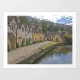 Castle Combe. Art Print