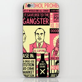 Prohibition iPhone Skin