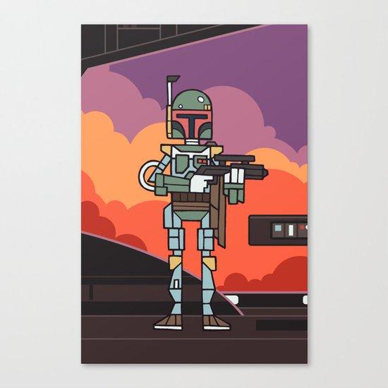EP5 : Boba Fett Canvas Print