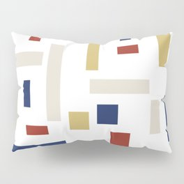 Abstract Theo van Doesburg Composition VIII (White) The Three Graces Pillow Sham
