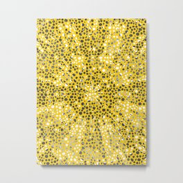 SCATTERED POLKA DOTS Metal Print