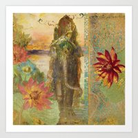 lily Art Prints featuring Lily by Aimee Stewart