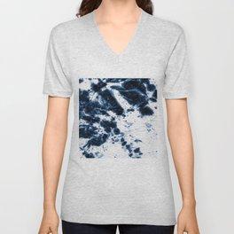 Boho Paper Tie-Dye Unisex V-Neck
