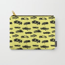 Classic Cars // Yellow Carry-All Pouch