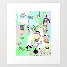 JORDI Art Print
