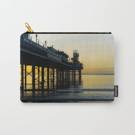 Paignton Pier At Sunrise Carry-All Pouch