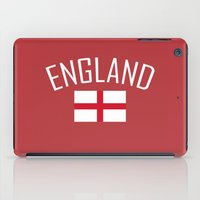 england iPad Cases featuring England by Earl of Grey