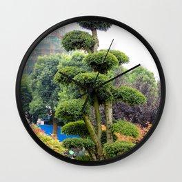 Yueyang garden   Jardin Yueyang Wall Clock