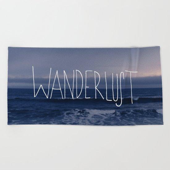 Wanderlust Ocean Beach Towel