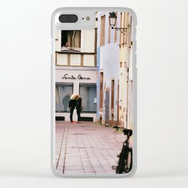 Love is all you need Clear iPhone Case
