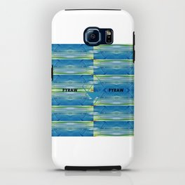 FlipSide_Pyraw iPhone Case