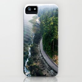 The Vancouver Seawall iPhone Case
