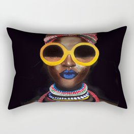 'Black Gold' Rectangular Pillow