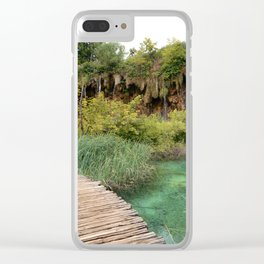 guided relaxation Clear iPhone Case