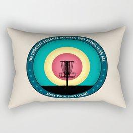 Make Your Shot Count Rectangular Pillow