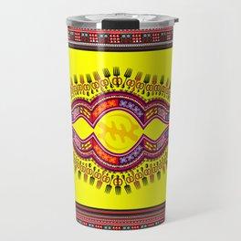 African Patterns Travel Mug