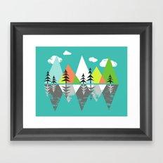 The Crystal Lake Framed Art Print