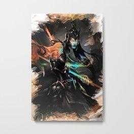 League of Legends KALISTA Metal Print