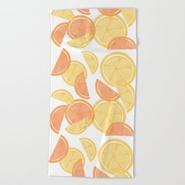 14 Citrus Showers Beach Towel