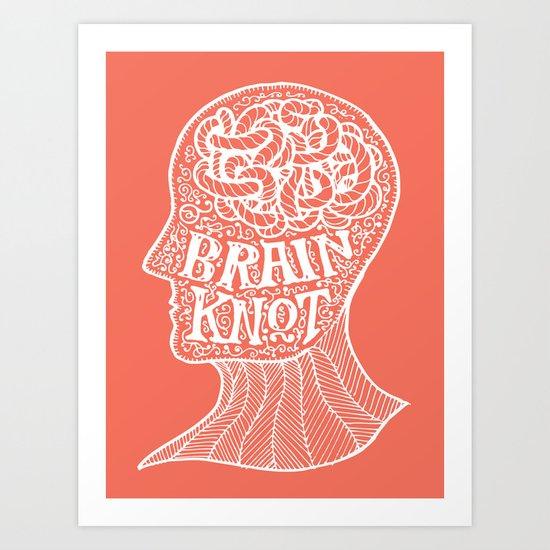 Brainknot Art Print