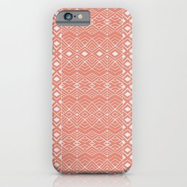 Aztec Coral iPhone Case